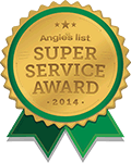 Angie's List Super Service Award Winner (2013-2014)
